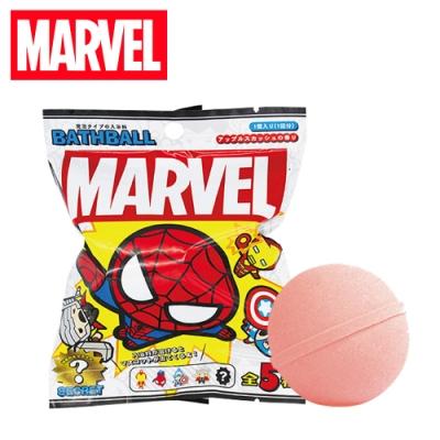 日本正版 漫威英雄 造型公仔 沐浴球 泡澡劑 入浴球 泡澡球 MARVEL 696766