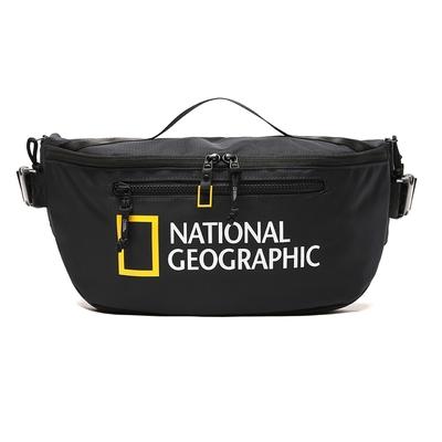 NATIONAL GEOGRAPHIC Big LOGO Sling Bag V2  腰包 海軍藍-N211AHI030067