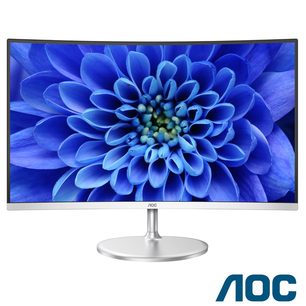 AOC C32V1QD 32型VA曲面螢幕