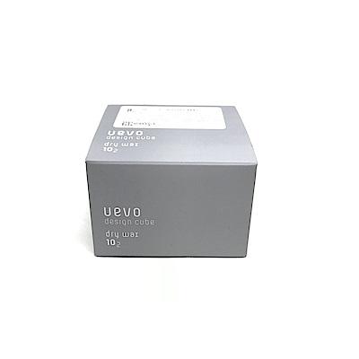 日本 Demi 卵殼膜彩色造型積木髮蠟 10-2 (灰積木) 30g