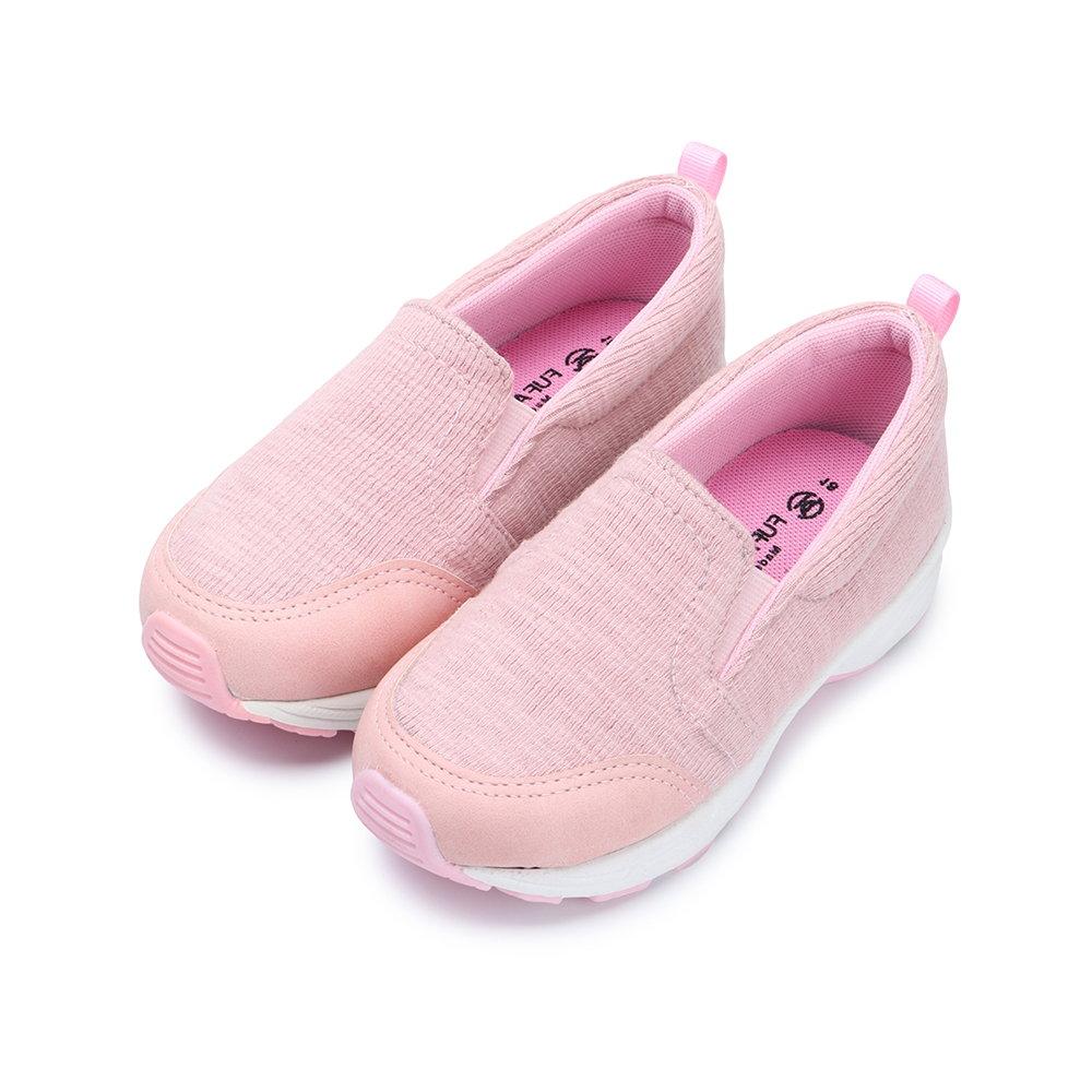 BuyGlasses 輕柔休閒童款懶人鞋-粉