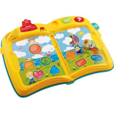 【Vtech】寶寶啟蒙認知學習套書組(1機+4卡書)