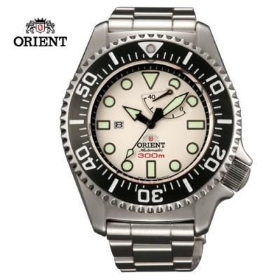 ORIENT東方錶GAS-DIVING系列300m專業潛水機械錶白色SEL02003W-45.7mm