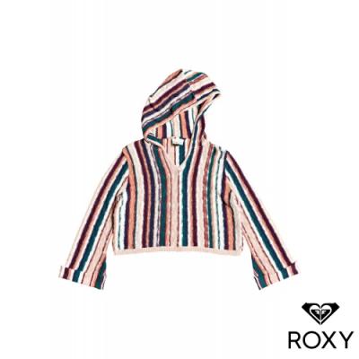 【ROXY】SUN EXPRESS 連帽針織衫 彩色