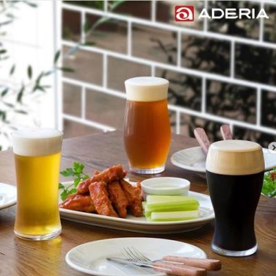 ADERIA 日本進口工藝啤酒杯三套裝組-爽快、芳醇、厚重