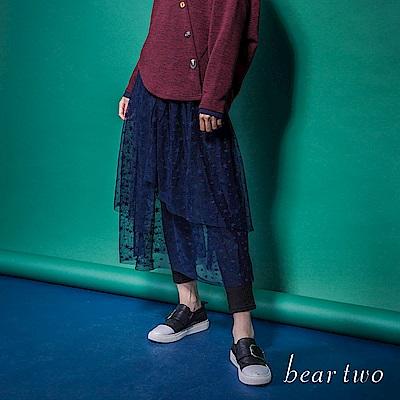 beartwo 美麗星空唯美多層次網紗洋裝(二色)