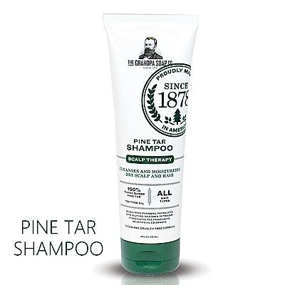 Grandpa 神奇妙松焦油 健康頭皮淨化去味洗髮精235mL+30mL