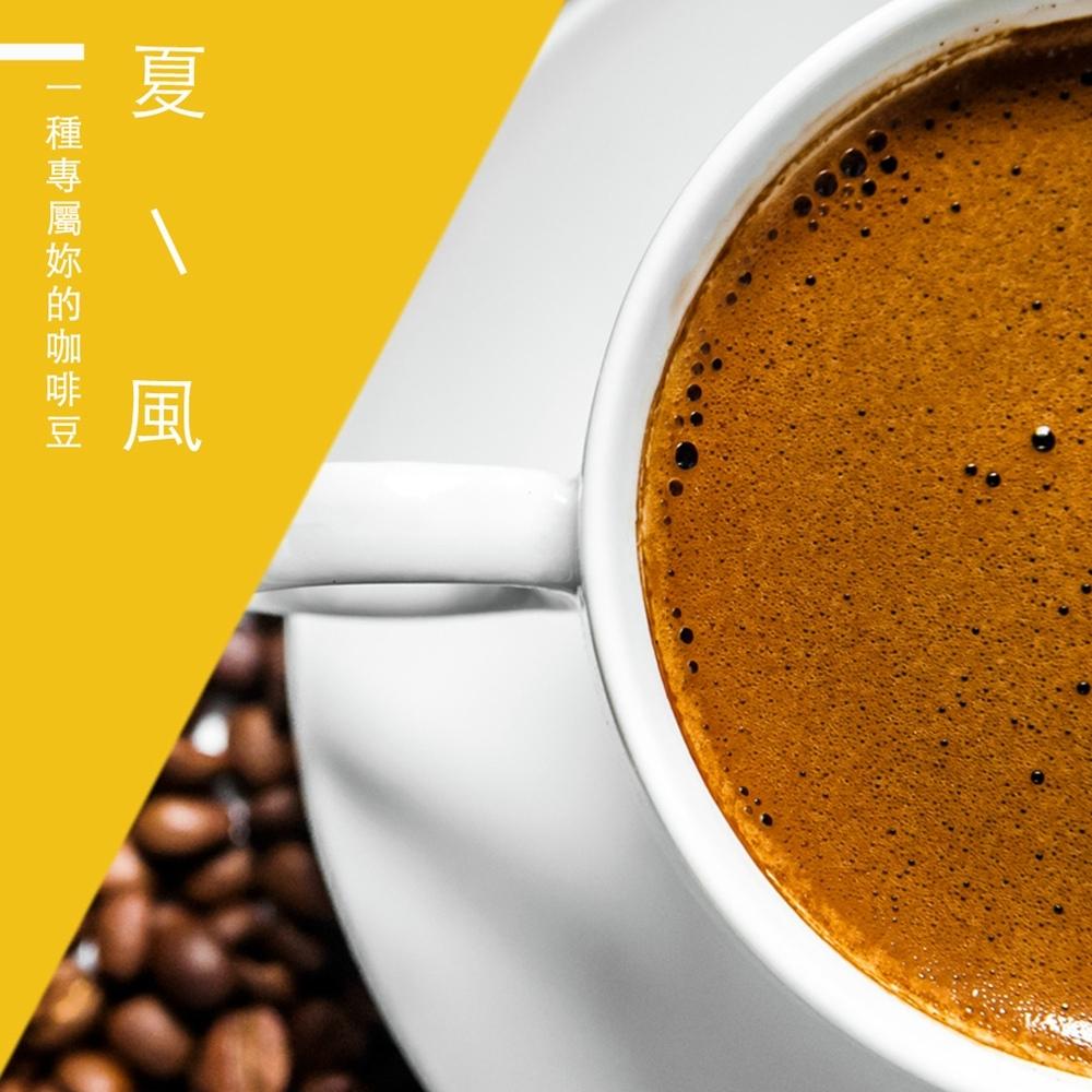 【精品級金杯咖啡豆】夏風咖啡豆(450g)