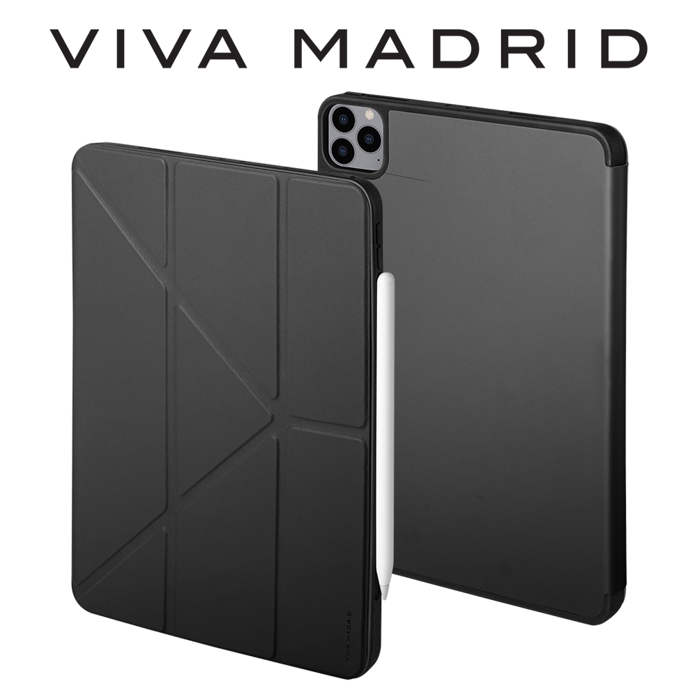 VIVA MADRID iPad Pro 11吋 Nappa 皮革保護套-黑色