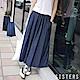 韓國輕單寧高含棉牛仔寬褲裙 SISTERS product thumbnail 1