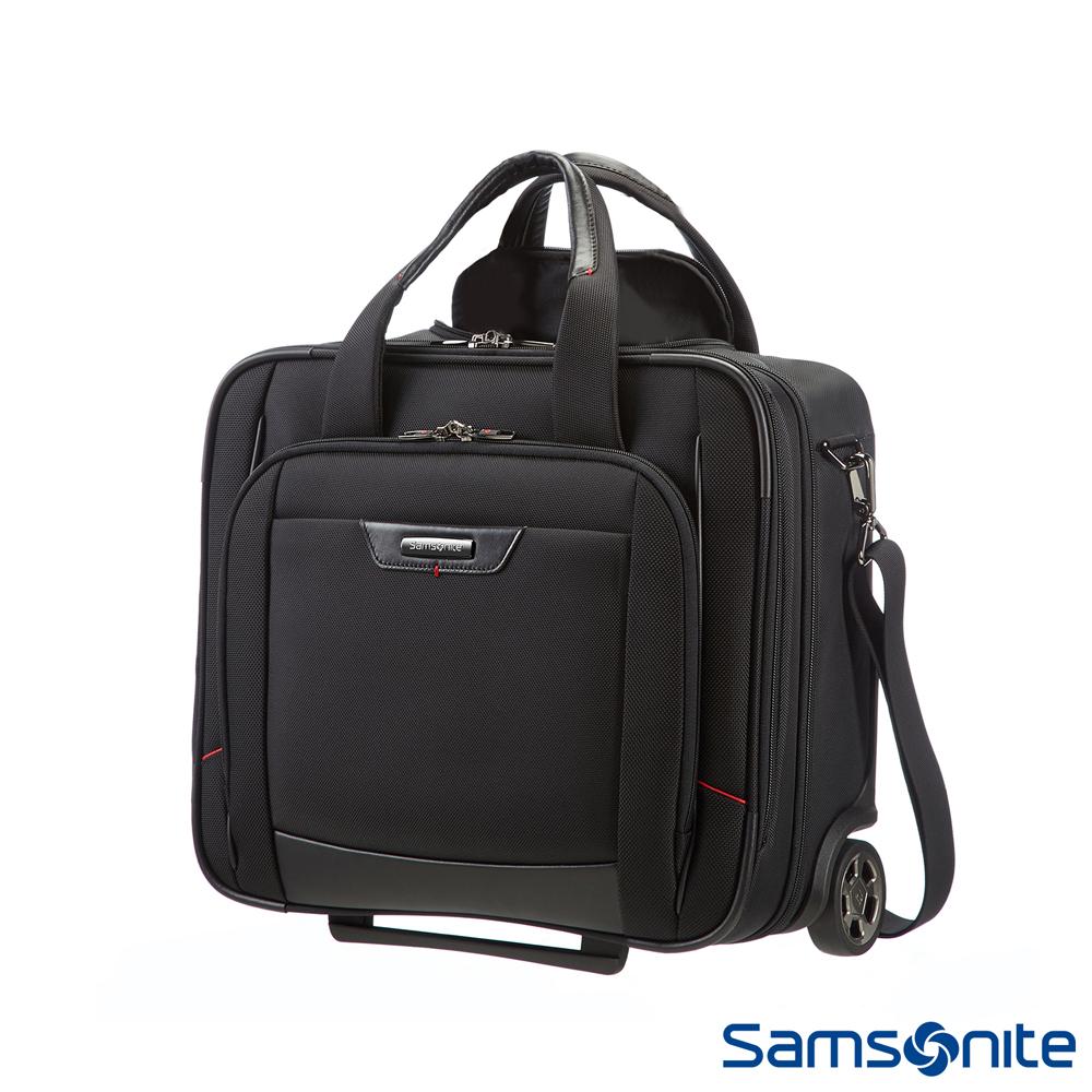 Samsonite新秀麗 Pro-DLX4商務機長登機箱(黑)
