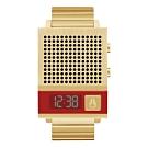 NIXON 科技潮流方型電子腕錶-金(A1266502)/35X45mm