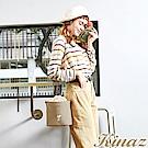 KINAZ x PEANUTS™ 光合野餐斜背水桶包-糖霜歐蕾-好日子系列