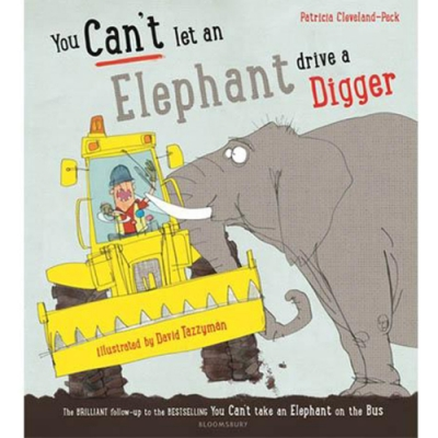 You Can t Let An Elephant Drive A Digger 動物幫倒忙平裝繪本