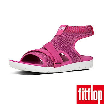 FitFlop UBERKNIT針織涼鞋紫櫻紅