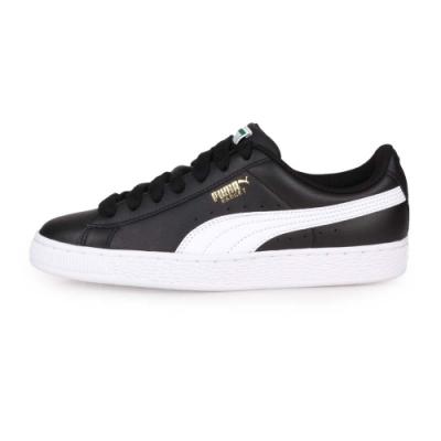 PUMA 男女 經典復古休閒鞋 BASKET CLASSIC LFS 黑白