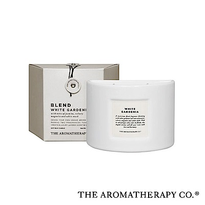 The Aromatherapy Co. 紐西蘭天然香氛 Blend混調系列 白梔子花 White Gardenia 280g 香氛蠟燭