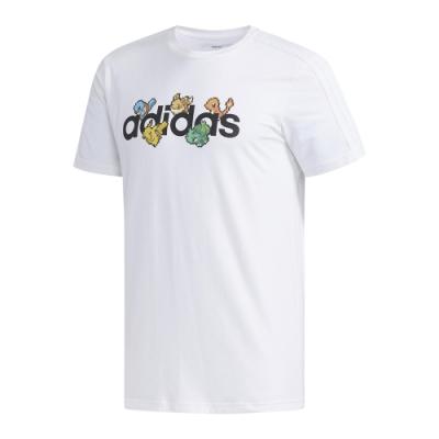 ADIDAS 寶可夢 男 短袖上衣 白 FM6030