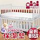 WallyFun 嬰兒床用保潔墊-全包款 (120x60cm) ~台灣製造 product thumbnail 1