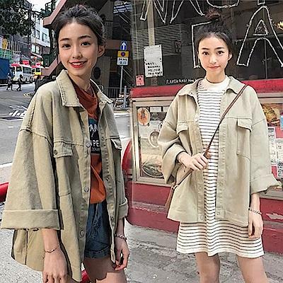 【韓國K.W.】俏皮時尚外套