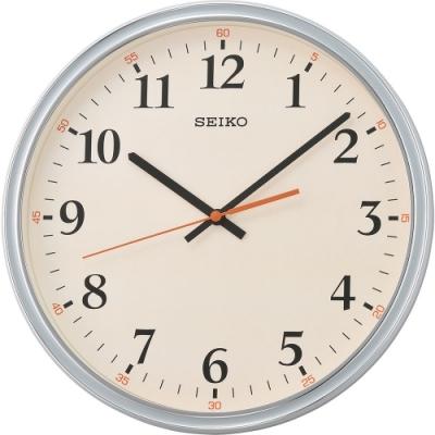SEIKO精工 簡約個性時尚掛鐘(QXA751N)-31.2cm