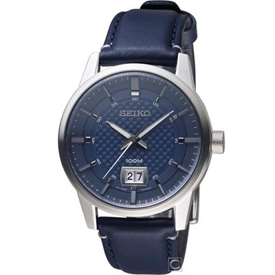 SEIKO 全面啟動時尚腕錶(SUR287P1)藍/41mm