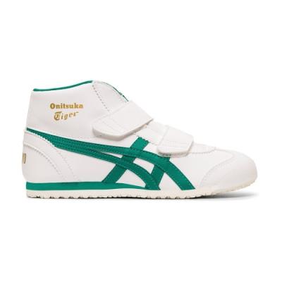 OT鬼塚虎-Mexico Mid-Runner ps 中童鞋 (白底綠邊)