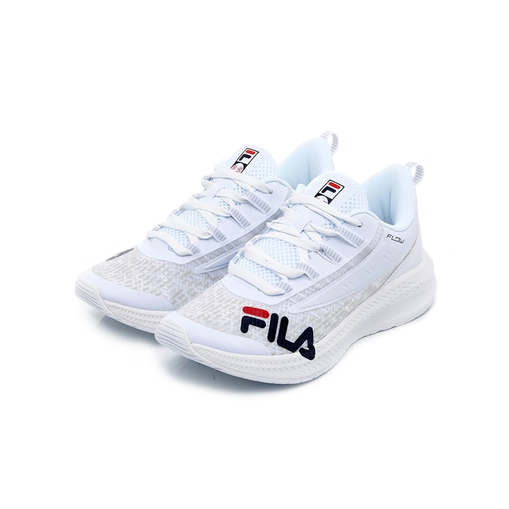 FILA WAVELET ALPHA 中性慢跑鞋-白 4-J537U-125