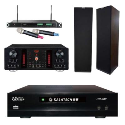 美華HD-889+FNSD A-450+SK-900V+ACT-589(伴唱機3TB+卡拉OK套組)