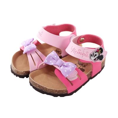 魔法Baby 女童鞋 台灣製迪士尼米妮正版精緻休閒涼鞋sd3242