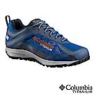 Columbia哥倫比亞 男款-鈦Outdry防水健走鞋-藍 UBM45910