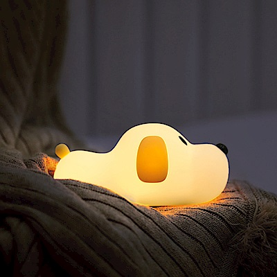 papa puppy小狗觸控式造型小夜燈/伴睡燈 禮物