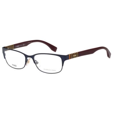 FENDI 經典款 光學眼鏡(黑色)FF0033
