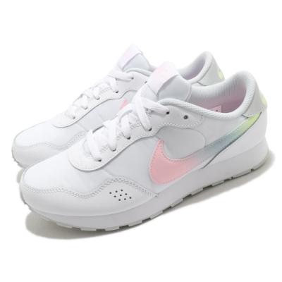 Nike 休閒鞋 MD Valiant MWH 運動 女鞋 基本款 簡約 舒適 球鞋 穿搭 大童 白 粉 DB3743100
