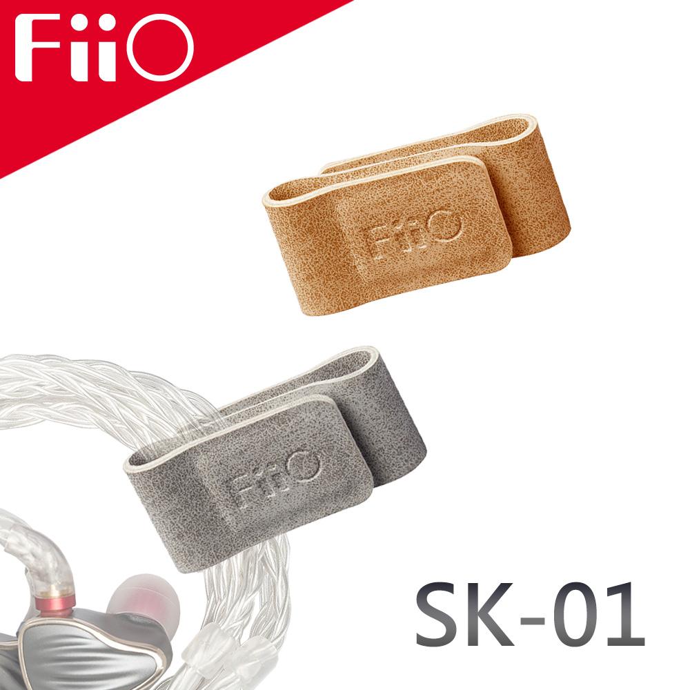 FiiO SK-01 耳機線材收納磁扣/集線器(兩入組)