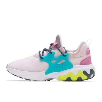 NIKE 休閒鞋 運動 襪套 輕量 透氣 球鞋 紫綠 女鞋 CD9015601 React Presto