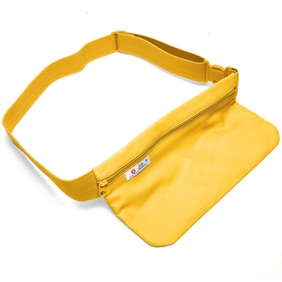 DF Queenin流行 - 台灣製專利橫式隱型貼身防盜腰包1入