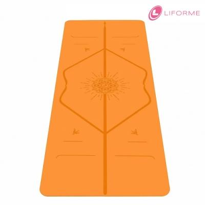 Liforme 經典瑜珈墊-快樂限定版