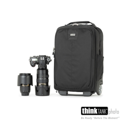 thinkTank 創意坦克 Airport Essentials Rolling Backpack 輕型旅遊行李箱-TTP730511