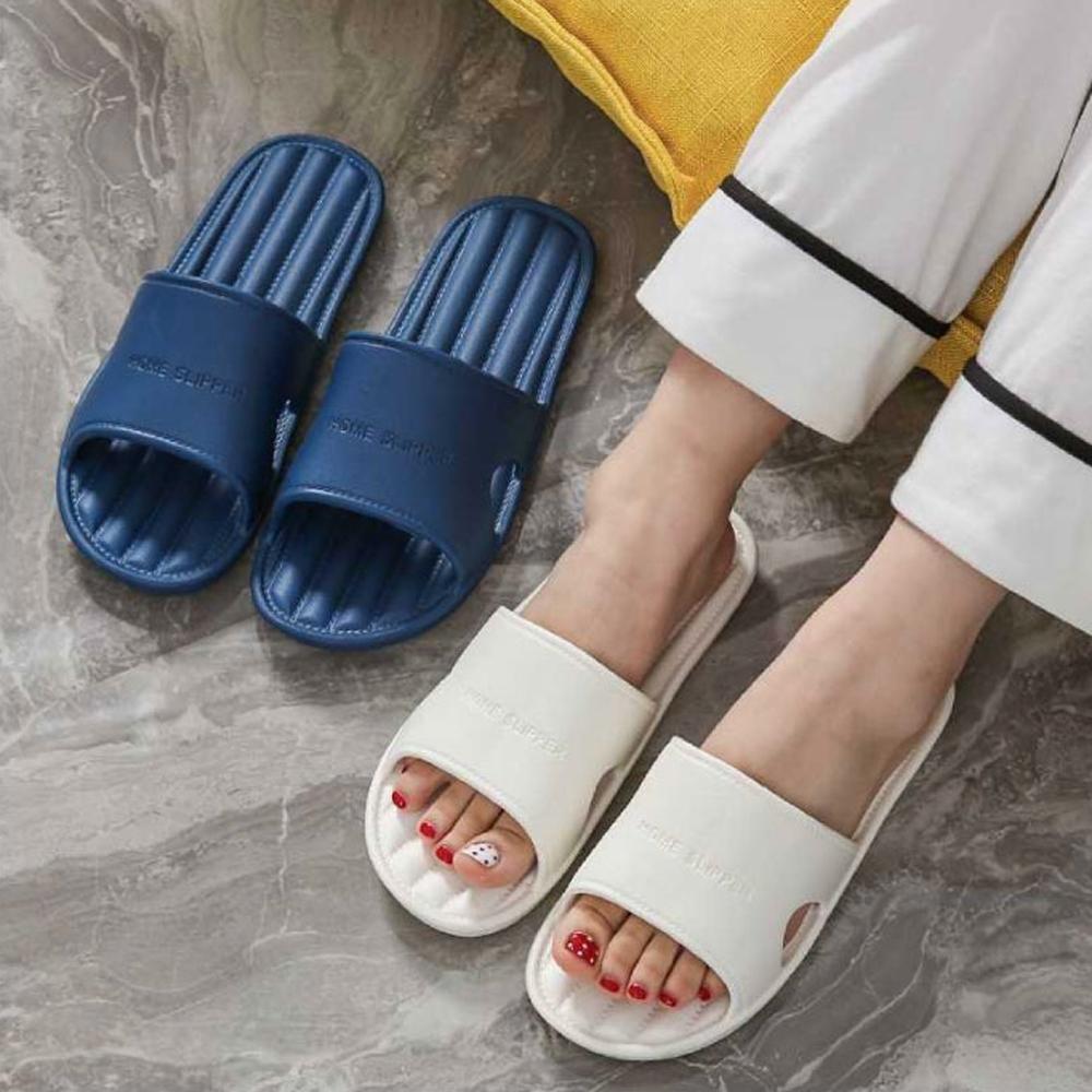 lemonsolo簡約條紋輕量拖鞋