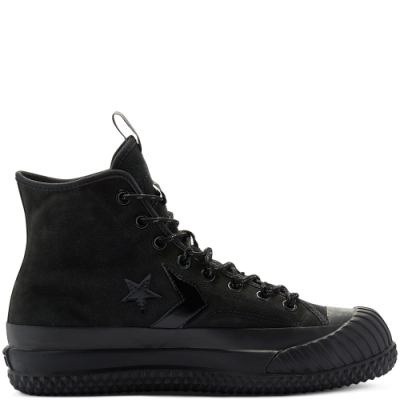 CONVERSE Waterproof Bosey MC GTX High Top 防潑水 反光 休閒鞋 男女 黑 169368C