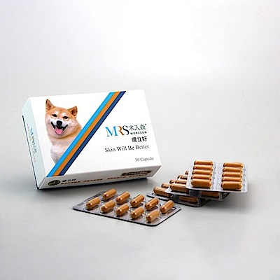 MRS木入森 犬用《犬寶膚立好》30顆/盒