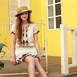 【Kinloch Anderson金安德森女裝】英倫圓領格紋飾釦洋裝-2色
