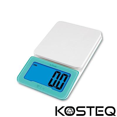 [時時樂限定]KOSTEQ Le Gouter微量廚房料理電子秤-綠色(3kg)