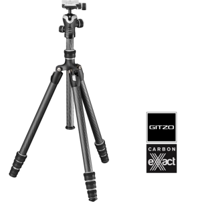 GITZO GK1545TA eXact碳纖維三腳架雲台套組 (公司貨) GK1545T SONY 特別版
