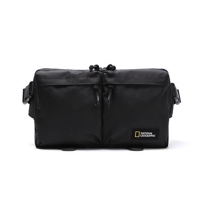 NATIONAL GEOGRAPHIC BLOCK ORIGIN hip sack  腰包 黑-N211AHI040099