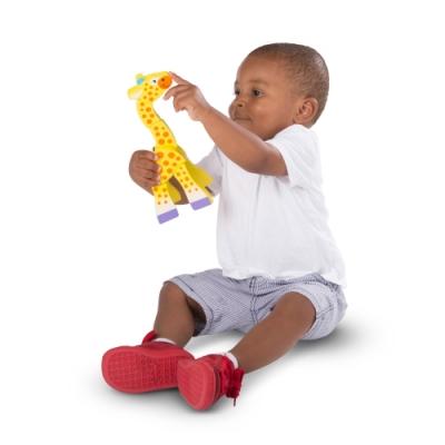 美國瑪莉莎 Melissa & Doug 幼兒啟蒙 - 小手扭轉樂 , 動物暖身操