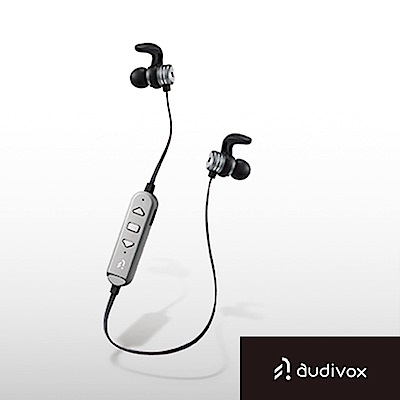 audivox 運動藍牙耳機 隨身聽-銀