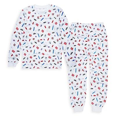 anny pepe家居系列 天絲排汗紗長袖套裝-英國風