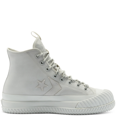 CONVERSE Waterproof Bosey MC GTX High Top 防潑水 反光 休閒鞋 男女 灰白 169369C